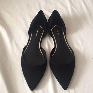 Zara flats shoes 36  6 black
